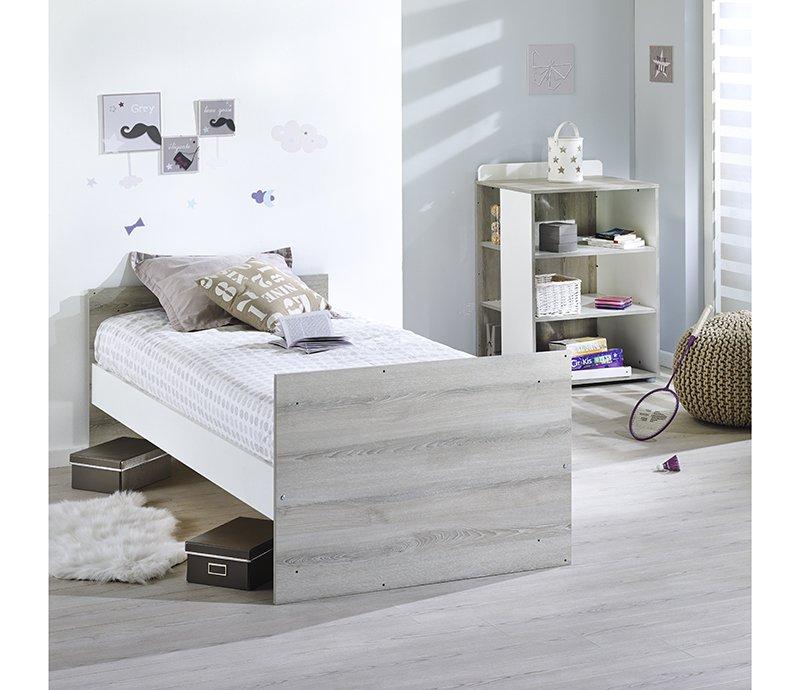 lit combin volutif 120x60 190x90 aude de sauthon s lection sauthon. Black Bedroom Furniture Sets. Home Design Ideas
