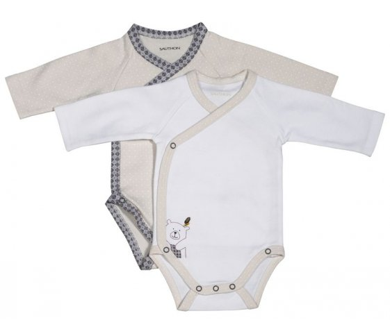 Sauthon Pyjama b/éb/é beige 3 mois Timouki