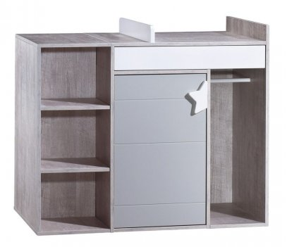 COMMODE A LANGER EVOLUTIVE EN BUREAUNOVA