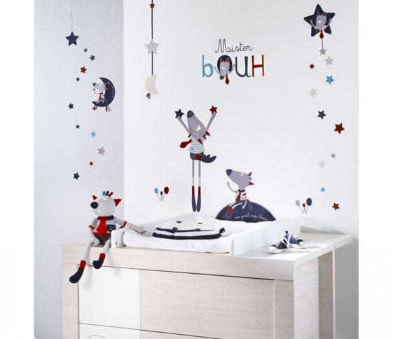 Stickers muraux Mister Bouh