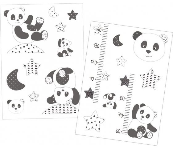 STICKERS MURAUX CHAO CHAO